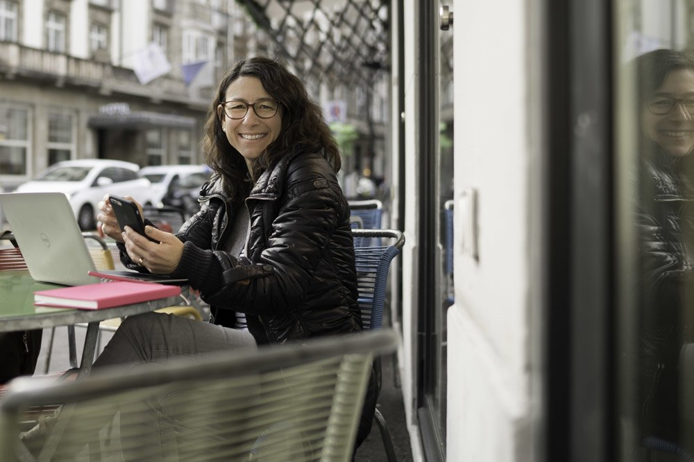 Bloggerin Rita Angelone