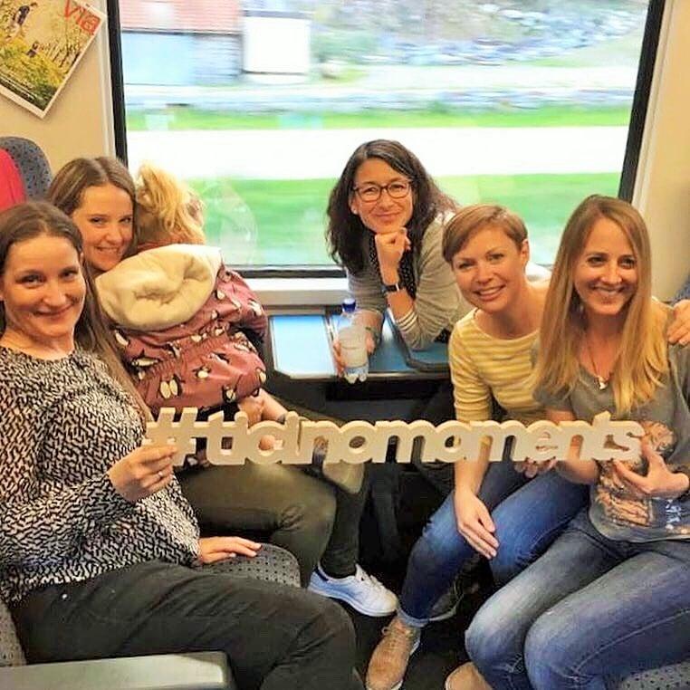Schweizer Familienblogger erkunden das Tessin anlässlicher einer Blogger-Recherchereise